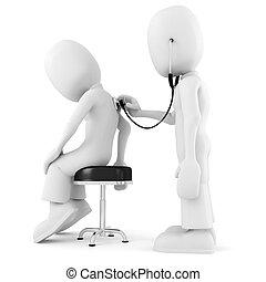 3d man - medical exam