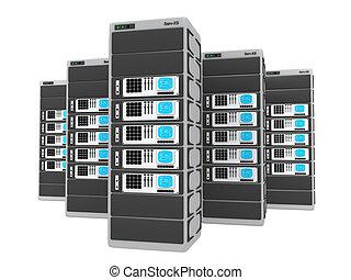 3d servers.