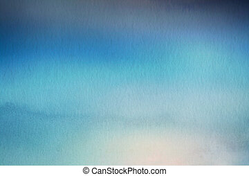 Abstract blur nature background. Watercolor paper overlay.
