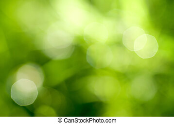 abstract green natural backgound
