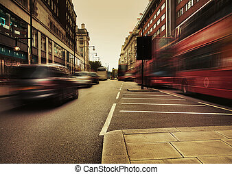 Amazing picture presenting urban traffic