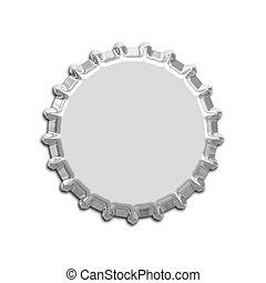 An illustration of a nice bottle cap