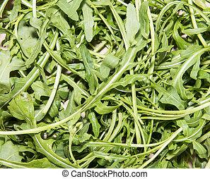 Arugula Salad background
