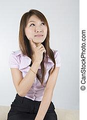 asian business women