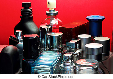 Perfume bottles