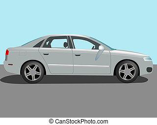 automobile cartoon, abstract art illustration