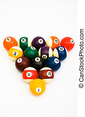 ball for game in billiards