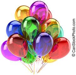 Balloons birthday party decoration