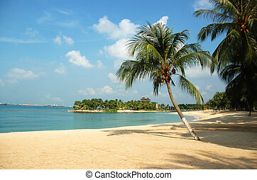Beach at Sentosa