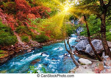 beauty nature scenery landscape background. Nature composition. Beautiful landscape
