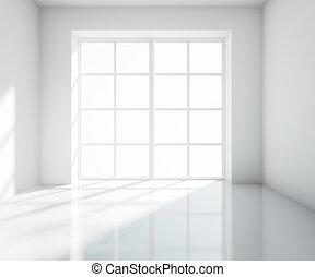 big white room