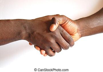 Black Handshake
