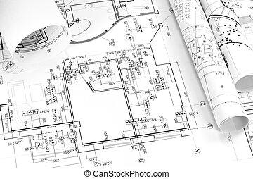 Blueprints background