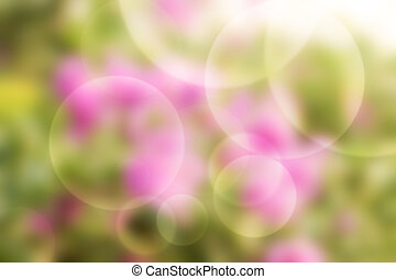 air bubble background.