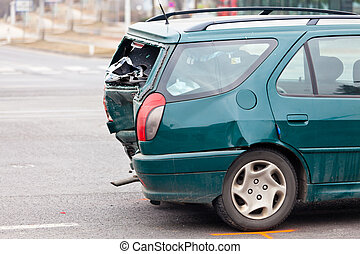 body damage in car accident