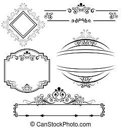 Border and frame designs