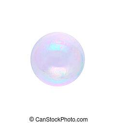 bubble Isolated on white background