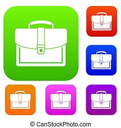 Business briefcase set collection