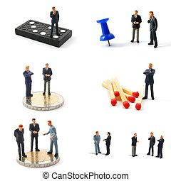 business man collection