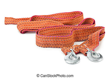Car towing rope