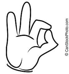 CARTOON HAND