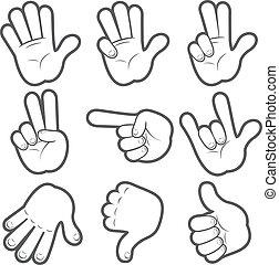 Cartoon Hands #1