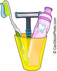 Cartoon Home Washroom Tooth Brush