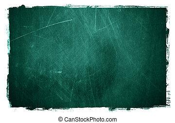 Grunge textured type of chalkboard background.
