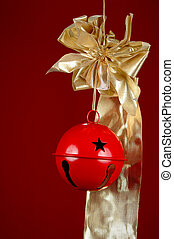 Christmas Bell and Ribbon