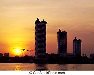 City silhouette