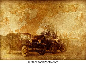 Classic Cars Background