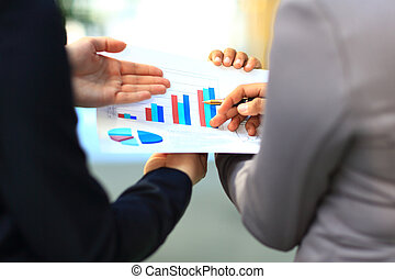 graphs and charts analyzed