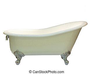 close up of luxury bathtub