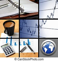 collage of business or finance