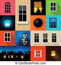 Collection of Vector Windows