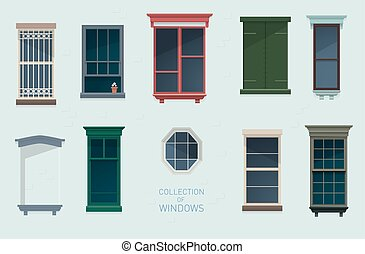 Collection of windows