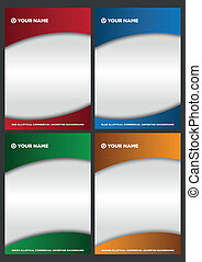 elliptical backgrounds for commercial advertise of products