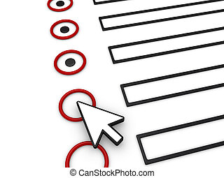 A 3d cursor is on top of a 3d form in order to complete it