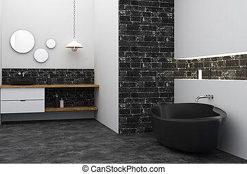 Contemporary bath room