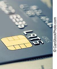 Credit card micro chip