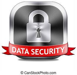 data security button