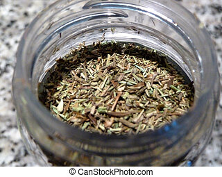 dried herbs