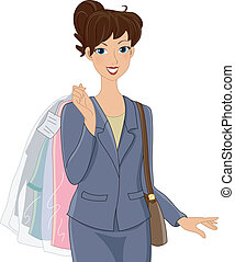 Dry Cleaning Girl