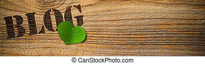 eco friendly blog - green