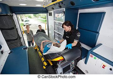 Elderly Ambulance Transport