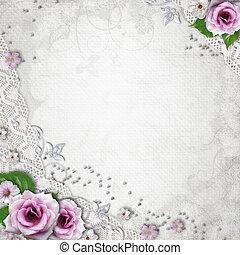 Elegance wedding background