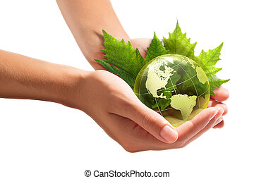 environment conservation in your hands - usa