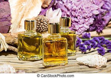 Essential oil or perfume
