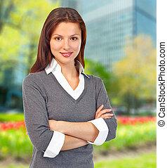 Executive business woman.
