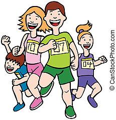Family Run Art